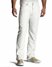 New Levi's Mens 501 1014 Button Fly Straight Painter White Denim Jeans 32 X 32