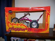 Vintage Cox Gas Powered Sportster Trike Chopper 2 in original box
