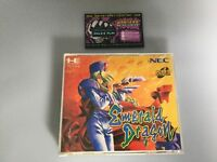 Emerald Dragon  Pc Engine Cd Rom JP Japan Boxed W/ Spinecard Good Cond