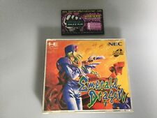 EMERALD DRAGON PC ENGINE CD Rom JP JAPON Coffret avec Spinecard Good Cond