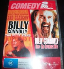 Billy Connolly Two Night Stand & Live Greatest Hits (Aust Reg 4) 2 DVD – New