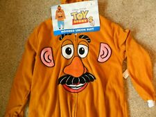 Mr Potatoe Head mens Large hooded jumpsuit/Halloween costume