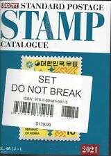 2021 Scott Standard Postage Stamp Catalog Vol 4A and 4B Countries J-L