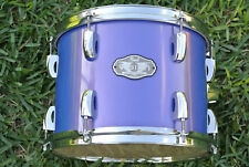 "PEARL VISION 12"" BLUE RACK TOM SST BIRCH PLY SHELL for YOUR DRUM SET! LOT #B169"