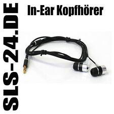 In-Ear Kopfhörer Headphone Stereo mit 3,5mm Klinkenstecker 1,2m lang AIV 190362