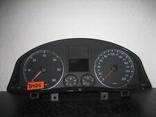 TACHIMETRO Strumento Combinato VW Golf 5 1k0920853h anno 06 Diesel Cluster Cabina Di Pilotaggio d425