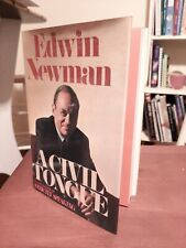 A Civil Tongue by Edwin Newman (Hardcover)