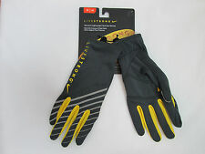 Nike Women Livestrong Lightweight Tech Running Gloves- Grey/Yellow S,M,L NEW