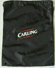 New Carling Sports Gymsack Shoulder Bag Backpack Black