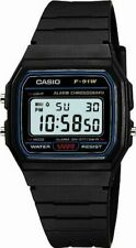 Casio Standard Digital F-91w-1jf Casual Watch Water Resist 100 Auth Japan