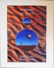 THE CRANBERRIES Bury The Hatchet 1999 Music Press Poster Type Advert In Mount