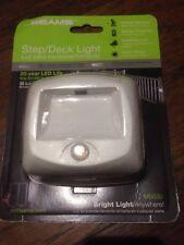 Mr. Beams MB530 Wireless White Plastic  Indoor/Outdoor Lights Motion-Sensin