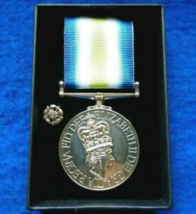 SOUTH ATLANTIC FALKLANDS WAR FULL SIZE MEDAL REPRO WITH ROSETTE,PRESENTATION BOX