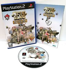 Metal Slug Anthology ~ Sony PlayStation 2 PS2 ~ Arcade Run n Gun *Excellent CIB*