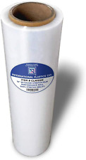 18 Stretch Filmwrap 1200ft 500 Stretch Clear Cling Durable Adhering Packing
