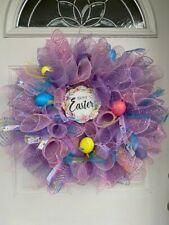 handmade Easter wreath