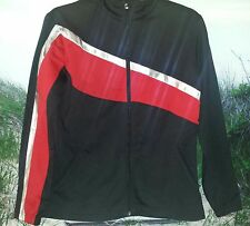 Augusta Sportswear Ladies S Black & Red Westfield Bombers Cheer Jacket