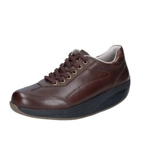 scarpe donna MBT sneakers marrone pelle performance BT62