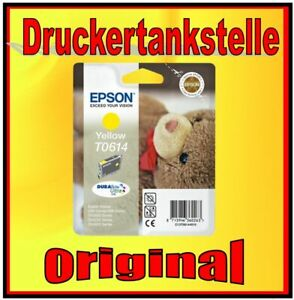 original Epson T0614 yellow Stylus D68 D88 DX3800 DX 3850 DX4250 DX4800 DX4850