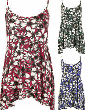 Viscose Machine Washable Floral Sleeveless Tops for Women