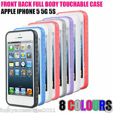 Touchable Full Front+Back Touch Case Phone Cover for Apple iPhone SE 5se 5s 5