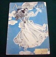 VINTAGE  GIRL SCOUT - 1940 AMERICAN GIRL - JUNE