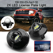 2x LED License Number Plate Light For Ford F150 F250 F350 Ranger Raptor
