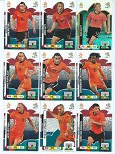 NETHERLANDS x 15 PANINI Adrenalyn XL UEFA Euro 2012 Cards