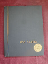 USS Salem CA 139 Flagship Sixth Fleet Mediterranean Cruise Book 1952