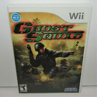 Ghost Squad (Nintendo Wii, 2007) Complete Tested & Working