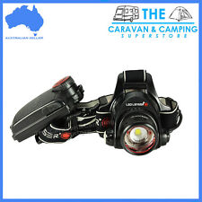 LED LENSER H14R.2 1000Lm Rechargeable & Focusable Headlamp Head Torch ZL7299R