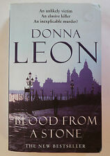 """""""Blood From a Stone"""" - 2005 - Donna LEON - Livre en anglais - English book"""
