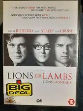 C37 / DVD LIONS ET AGNEAUX Robert REDFORD Meryl STREEP Tom CRUISE