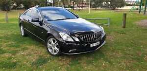 2010 Mercedes-Benz E250 CDI Elegance 5 Sp Automatic 2d Coupe diesel black