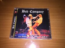 Bad Company Live in Albuquerque 1976. 12 PAGE BOOKLET. 2CD