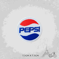 Pepsi Logo Patch Iron On Patch Sew On Embroidered Patch