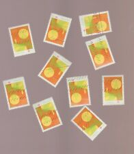 Canada 2010 Mental Health  10 Used Stamps