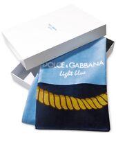 "Dolce & Gabbana Logo Cotton Large Beach Pool Towel 32"" X 60"" Newinbox"