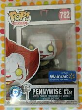 Funko Pop! Pennywise The Clown (With Blade) Figure #782 (Walmart EXCLUSIVE)!!!