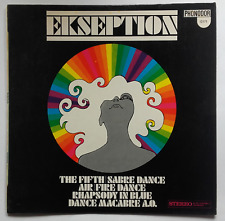 LP Ekseption ‎– Ekseption 1969 Israel Phonodor ‎– 12171 White Label - Prog Rock