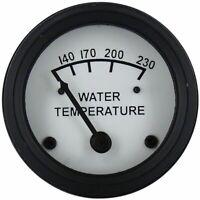 Water Temperature Gauge For John Deere JDWA02b With Black Bezel