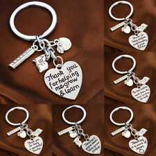 Teacher Gifts Thank You Presents School Nursery Apple abc Book Charms Keychains