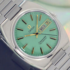 VINTAGE OMEGA Seamaster AUTOMATIC 17 J CAL.1020 DAY&DATE ANALOG DRESS MENS WATCH