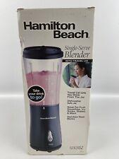 Hamilton Beach Single-Serve Blender With Travel Lid 51101BZ Black