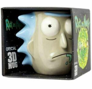 Rick and Morty Sanchez  Shaped 3d Mug Gift Boxed
