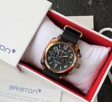 Original In Box Briston Clubmaster Classic Acetate 40mm Black Dial Nylon Watch
