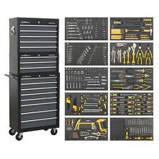 Sealey ap35tbcombo cassetta attrezzi completo 16 cassetto 420pc KIT MANUTENZIONE