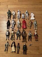 Lot Of 22 Loose Star Wars Black Series Figures Boba Fett Obi-Wan Bossk Sabine R2