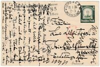 AK Stralsund - GANZSACHE WHW Winterhilfswerk 1934/35 Briefmarke Deutsches Reich
