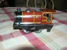 Brimtoy O Scale Clockwork Locomotive #7000 Made in England, Runs (B)
